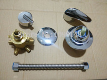 5 Путей Интубации + Трубка душ смесительный клапан Отдельно, 3/4/5 путь воды на выходе ванная комната душ смеситель кран, душ смесительный клапан