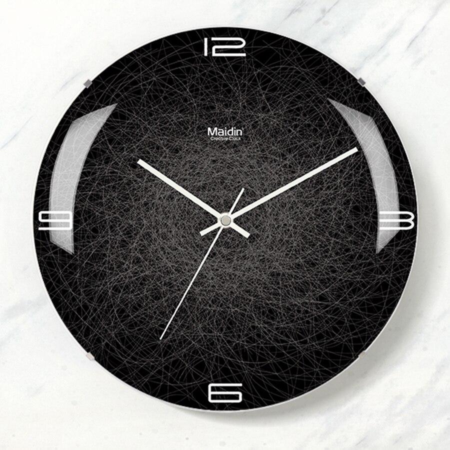 Large Silent Wall Clock Modern Design Clocks Digital Wall ...
