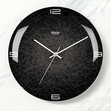 Large Silent Wall Clock Modern Design Clocks Digital Wall Clock Kitchen Watch Home Decor Barber Pole Best Selling 2018 Products
