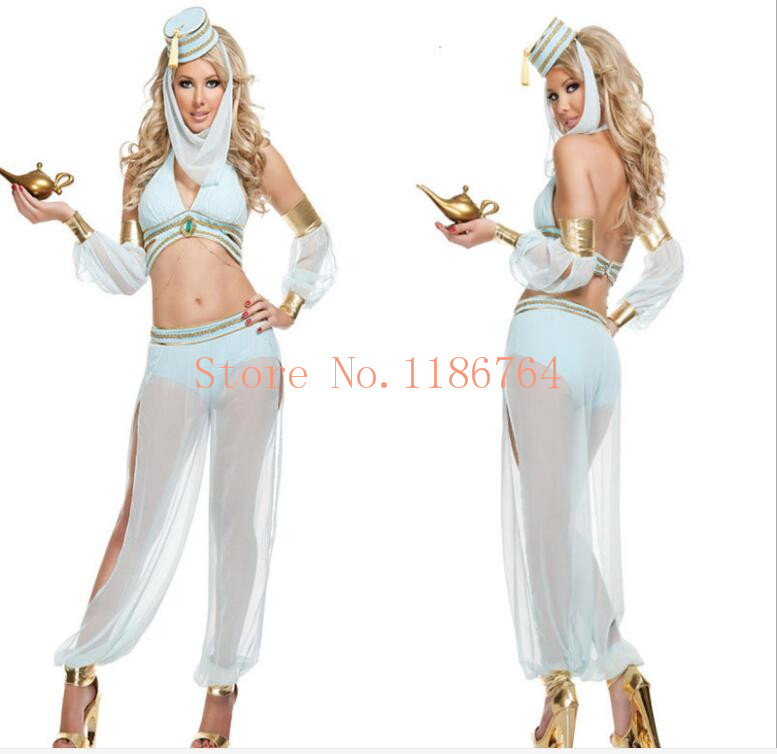 Arab and India Girl Costumes Greek God of Love Goddess Queen Cleopatra Cosplay