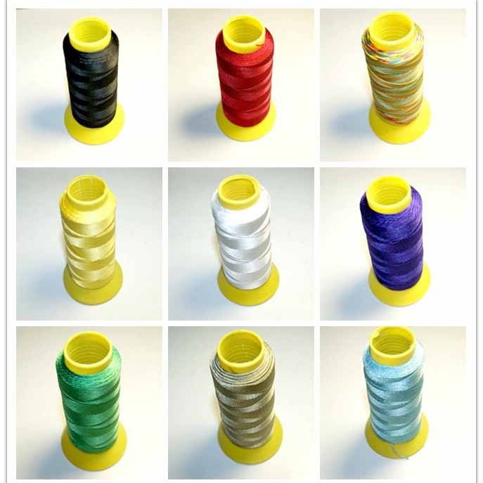 NEW 9 Colors Of Silk Nylon 6 MM Cable Line Measure Discussion Of Do It Yourself Chain Necklace For Which NO Elastic Of 350 M