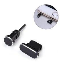 Metal Mini Dust plug 3.5 mm jack earphone Charging Port For iPhone X XR XS Max 8