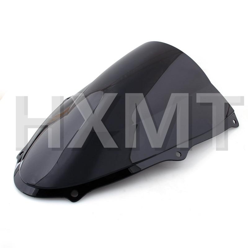 For Suzuki TL1000R TL 1000R 1998 1999 2000 2001 2002 2003 Black Windshield WindScreen DoubleBubble TL 1000 R