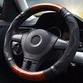 Чехол рулевого колеса автомобиля  оплетка на руль автомобиля  микрофибра  кожаный чехол на руль  всесезонный Универсальный