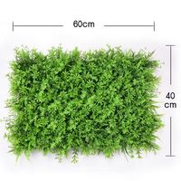 40x60cm Milan Eucalyptus plastic plant wall for Shopping green Decorative lawn fake plant flower leave leaf for wall decorative