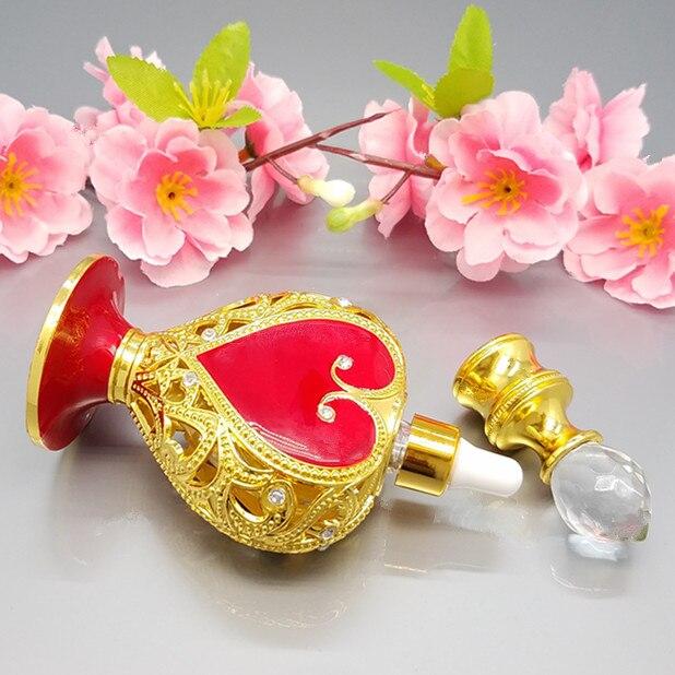 10 ml Musilm Islamitische goud / zilver Drop essentiële fles oogglas - Huidverzorgingstools - Foto 5