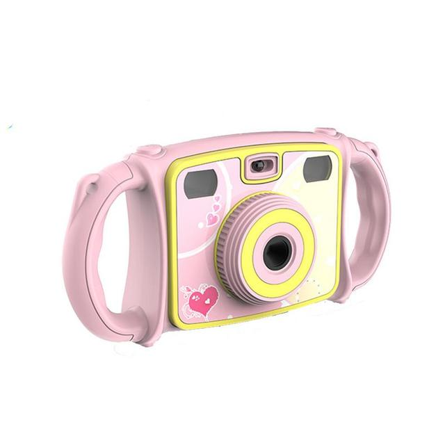 Kids Digital Camera Zoom Dual-Lens Video Camera Dual Selfie Camera 1080P HD Video Recorder Camera Camcorder LCD Screen 4X