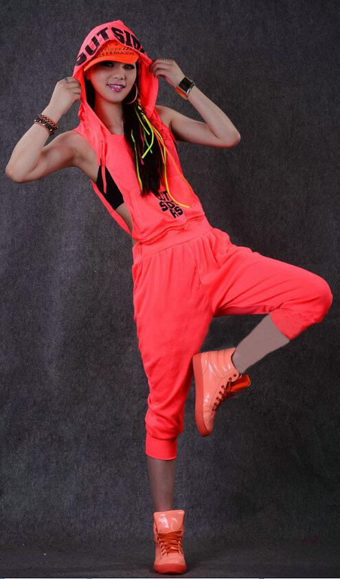 Hip-hop ples kostim izvedba nositi žene romper europska kompleti - Ženska odjeća - Foto 2