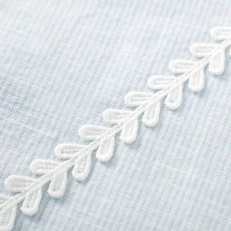 セミール新ファッション女性プリントヴィンテージブラウスシャツ女性ハイストリート十字 o ネックトップス