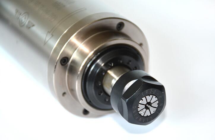 10 Uds. 2.2kw agua fría husillo motor ER20 grabado de refrigeración por agua husillo de fresado AC220v 380v 80x213mm GDZ 80 2.2B de trabajo de madera - 4