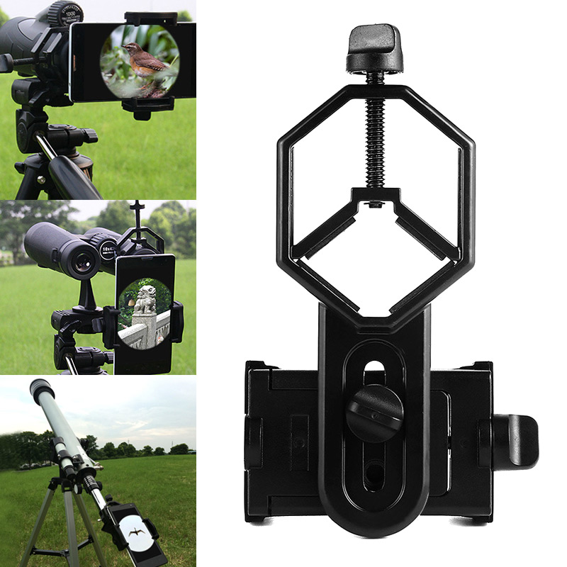Universal Telescope Phone Adapter Mount Holder for Binoculars Monocular Spotting Scope Microscope ASD88