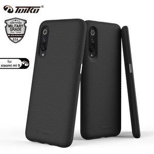 Image 1 - TOIKO X koruyucu 2 in 1 darbeye dayanıklı sağlam zırh telefon kılıfları Xiaomi Mi 9 arka kapak sert PC yumuşak TPU tampon koruyucu kabuk yeni