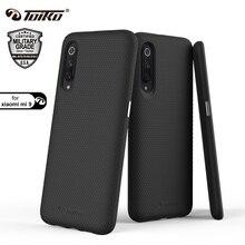 Toiko x guard capa de telefone 2 em 1, à prova de choque robusto, armadura, para xiaomi mi 9, tampa traseira, pc resistente, macia escudo protetor para amortecedor tpu