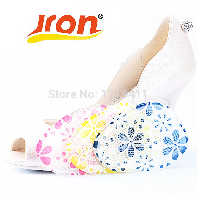 1 Pair Gel forefoot Silicone Shoe pad Insoles women's high heel Elastic Cushion Protect Feet Care Pads accessories htc-024 lenovo s920