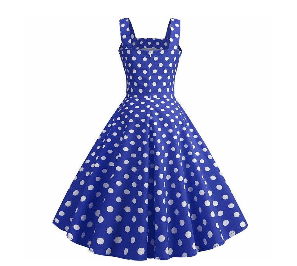 Koktejlové Retro párty šaty jednofarebné prešívaný lem bodky (5 variánt) 30