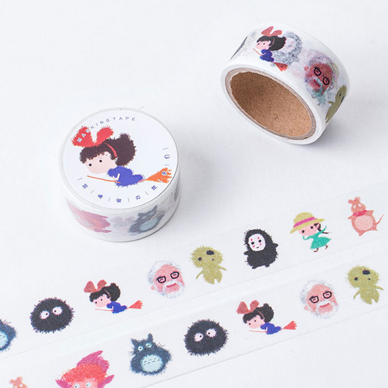 2cm*5m Original hand painted washi tape DIY decoration tape planner masking tape office adhesive
