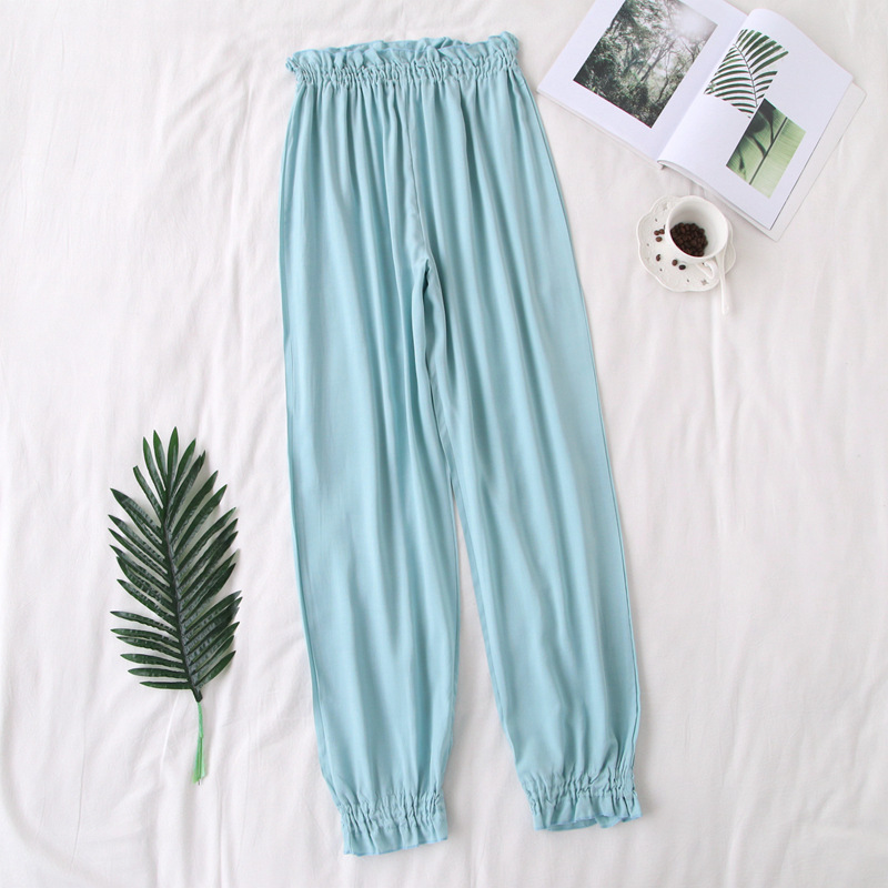 Fdfklak Spring Summer Cotton Sleep Pants Pajama Bottoms Trouser To Sleep Lady Nightwear Pant Pijama Pants Sleep Bottom Q897