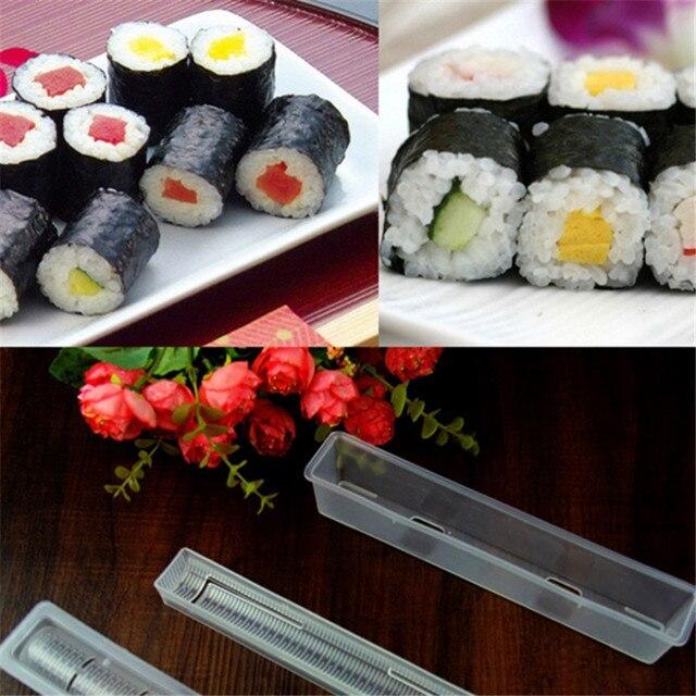 3 Pz/set Giapponese Rotolo Maestro Sushi Maker Riso Rotolo Mold ...