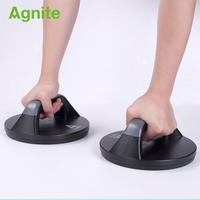 Agnite Disc Rotating Push Ups Stand sport fitness home gym push up bar Professional for body building exercise training dropship