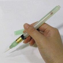 BON 102 Akı Yapıştır Lehim Macun Fırçası Ucu/Düz Kalem Kaynak Geri Dönüştürülebilir