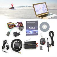 차량 자동차 GPS 추적기 TK103B GSM 경보 SD 카드 슬롯 도난 자동차 추적 세단 SUV 4WD 픽업 트럭 버스