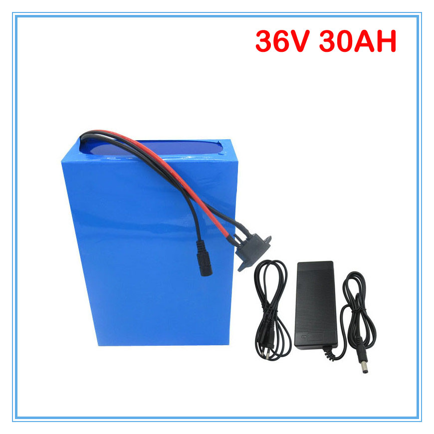 1500W <font><b>36V</b></font> Lithium <font><b>battery</b></font> <font><b>36V</b></font> 30AH E-scooter <font><b>battery</b></font> <font><b>36V</b></font> Ebike <font><b>battery</b></font> Use 3.7V <font><b>5AH</b></font> 26650 cell 50A BMS 3A Charger FREE shipping image