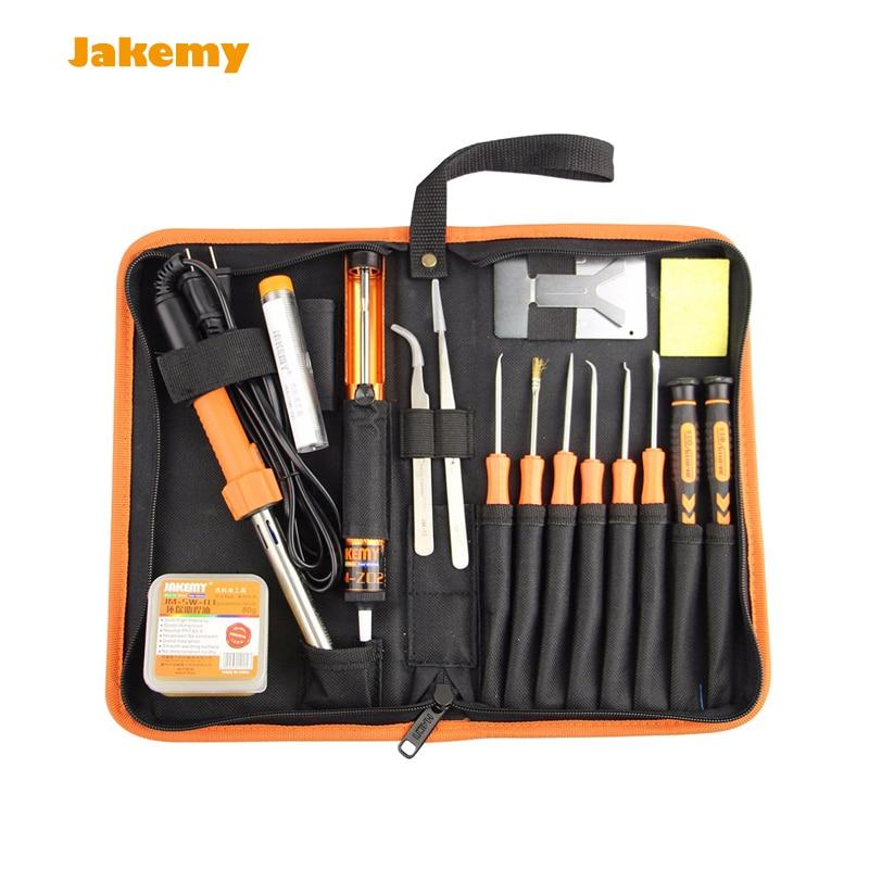 Multifunctional DIY Welding Soldering Tool Set (US plus) JM-P03 Professional Fluxing tool set + screwdriver + tweezers