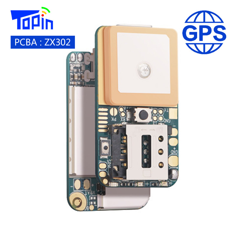 ZX302 PCBA Super Mini GSM GPS Tracker Locator Real-time Call Tracking Position Geo-Fence SOS Alarm for Children Pets Car Vehicle mini portable gps locator real time tracker sos communicator with lanyard for car person