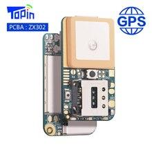 ZX302 pcba Супер Мини GSM GPS трекер Locator реального времени отслеживания вызовов положение геозона SOS сигнал тревоги для Дети Домашние животные автомобиль