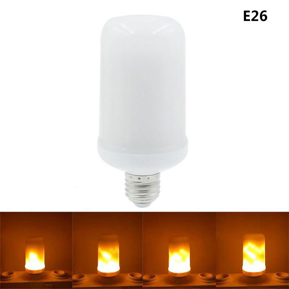 USPS E27 E26 2835 LED Flame Effect Fire Light Bulbs 3.5 W-5W Creative Lights Flickering Emulation Decorative Lamp Outdoor tools