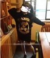Japanese Anime Sailor Moon Figure Punk Lolita Skull Harajuku Long Sleeve Sweater T-shirt Cosplay Sailor Moon Costume NEW