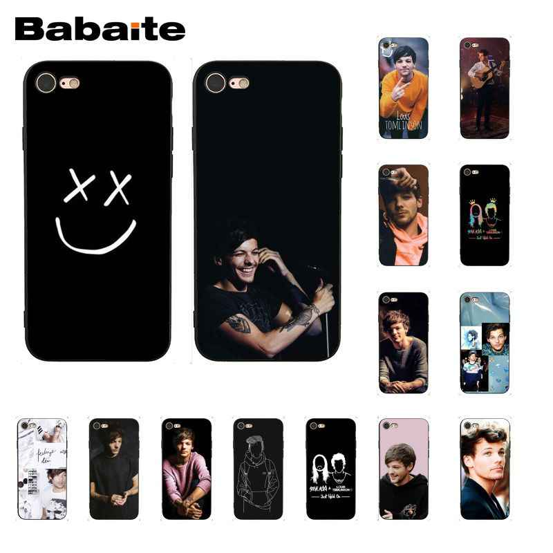 جراب هاتف من Babaite بتصميم واحد من Louis Tomlinson لهاتف iphone 11 Pro 11Pro Max 8 7 6 6S Plus X XS MAX 5 5s SE XR