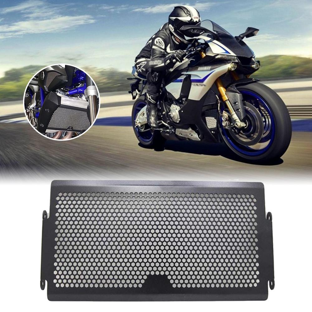 Intercooler Thick Aluminum Water Tank Net Shield For YAMAHA MT07 2014 2018 Radiator Black Aluminium Radiator in Radiators Parts from Automobiles Motorcycles