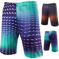 Summer 2017 Outdoors Thin Digital Printing Men Casual Beach FitnessTight Elasitc Soft Compression Beach Shorts M-XXL