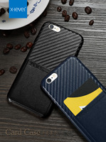 X Level PU Leather Phone Case For IPhone 6 6S Plus Luxury Brand Classic Card Slot