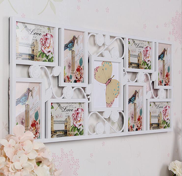 Perfecto Marco Collage Blanco Festooning - Ideas Personalizadas de ...
