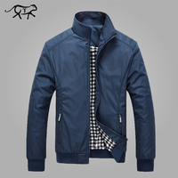 Jacket Men Spring Autumn Men S New Casual Jackets Regular Stand Collar Slim Fit Thin Coat