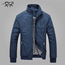 Мужская куртка весна осень Мужская Новая повседневная куртка Обычный воротник-стойка Slim Fit тонкое пальто мужские пальто ветровка оптовая продажа
