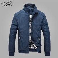Jacket Men Spring Autumn Men S New Casual Jackets Regular Stand Collar Slim Fit Thin Coat