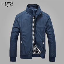 Jacket Men Spring Autumn Men's New Casual Jackets Regular Stand Collar Slim Fit Thin Coat Male Overcoats Wind Breaker Wholesale