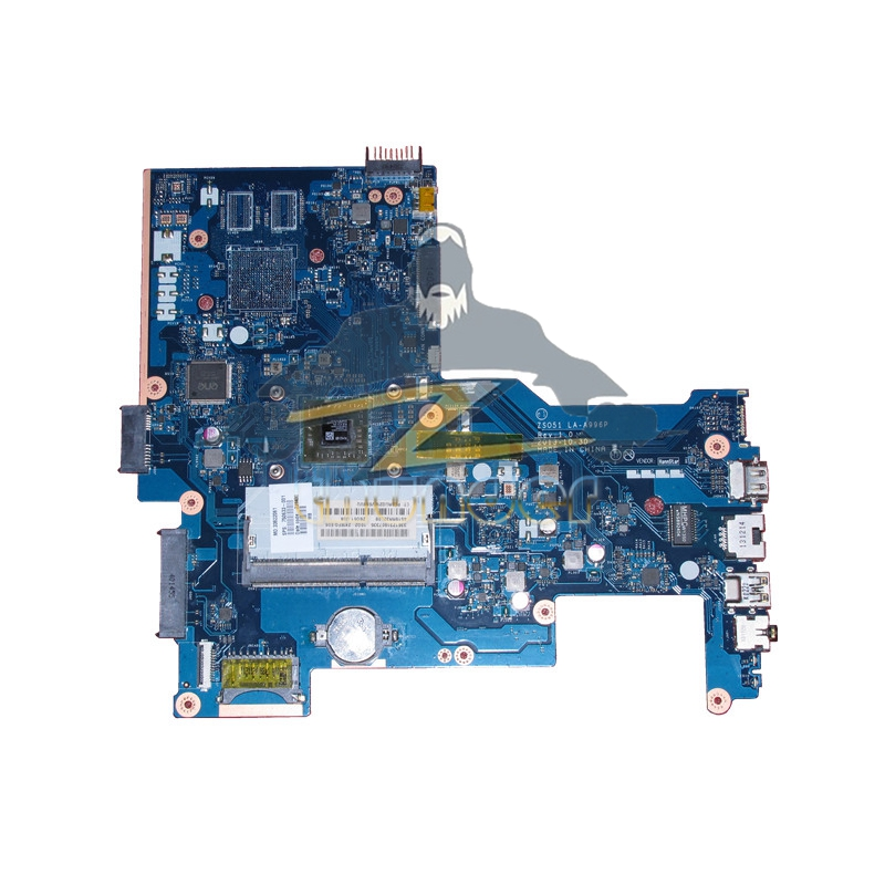 750633-501 LA-A996P REV 1.0 for HP 15g 15-G019wm laptop motherboard E1-2100 DDR3 la a996p 764003 601 for hp 255 g3 notebook la a996p uma e1 6010 w8pro 764003 501 100