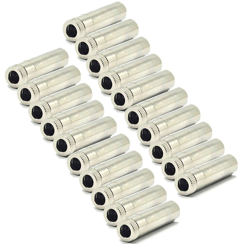 20pcs Adjustable Focusable Metal Housing Shell Case For 5.6mm TO18 Laser Diode Module DIY 12mmx40mm