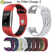 Silicone smart watch band strap for fitbit charge 2 Accessories Sport bracelet for fitbit charge 2 Replacement Wrist strap bands sport watch band strap for fitbit charge 2 band silicone strap for fitbit charge 2 bracelet smart wristbands accessories