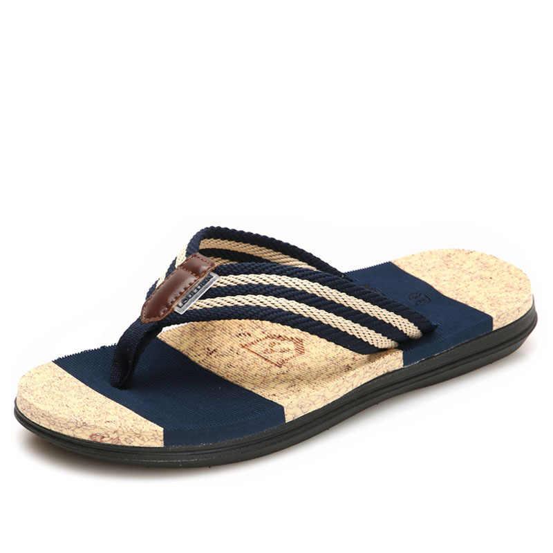 a7369a532a0 Men Women Flip Flops Beach Flat Sandals Designer Slippers Summer Shoes  Fashion Slides Rubber Couple Shoes