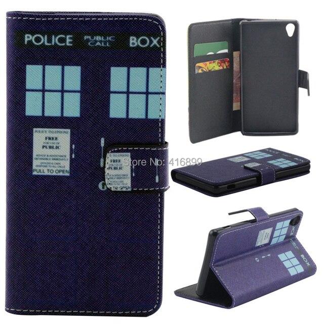 6cc12540a2 50 pz/lotto per sony xperia z3 police box serie 2 porta carte di credito