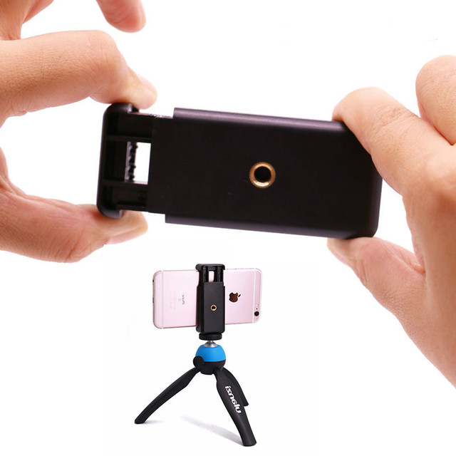 low priced 331dc 8a932 Aliexpress.com : Buy Ulanzi Mobile Phone Clip Clamp Holder,Smartphone  Tripod Mount Adapter Universal for iPhone 8 X 7 6 Plus Samsung Galaxy S6  from ...