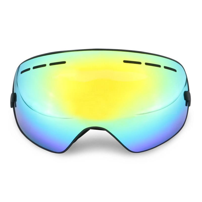 Ski Lunettes Double Anti-brouillard Alpinisme En Plein Air D'hiver Snowboard Masque Motoneige Lunettes Ski Lunettes Prévention Neige Aveugle