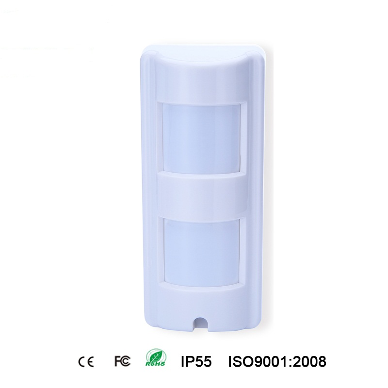 High Quality Outdoor Infrared Microwave Dual Tech Pir Motion Detector Sensor For Home Bank Security Alarm With Pet Immunity