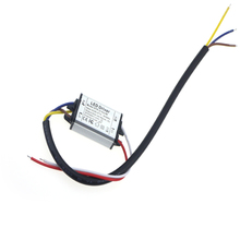 (3-4)*3W 900mA DC8-24V AC85-277V LED Driver Waterproof Power Supply Lighting Transformer IP67 Waterproof Free Shipping