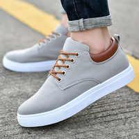 Zapatos casuales de marca para Hombre Zapatillas de deporte ligeras para Hombre transpirables tenis masculino adulto MODA CALZADO plano Zapatillas Hombre